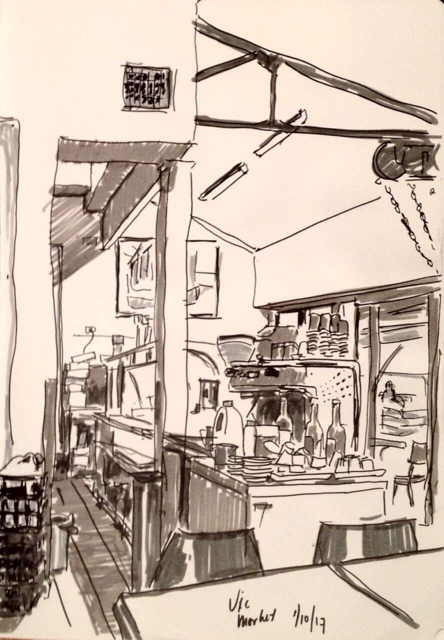 vic market cafe